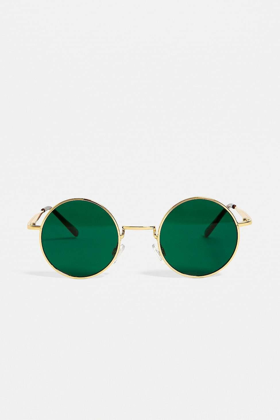 4ea006f5034 Urban Outfitters Uo Jude Green Sunglasses in Green for Men - Lyst