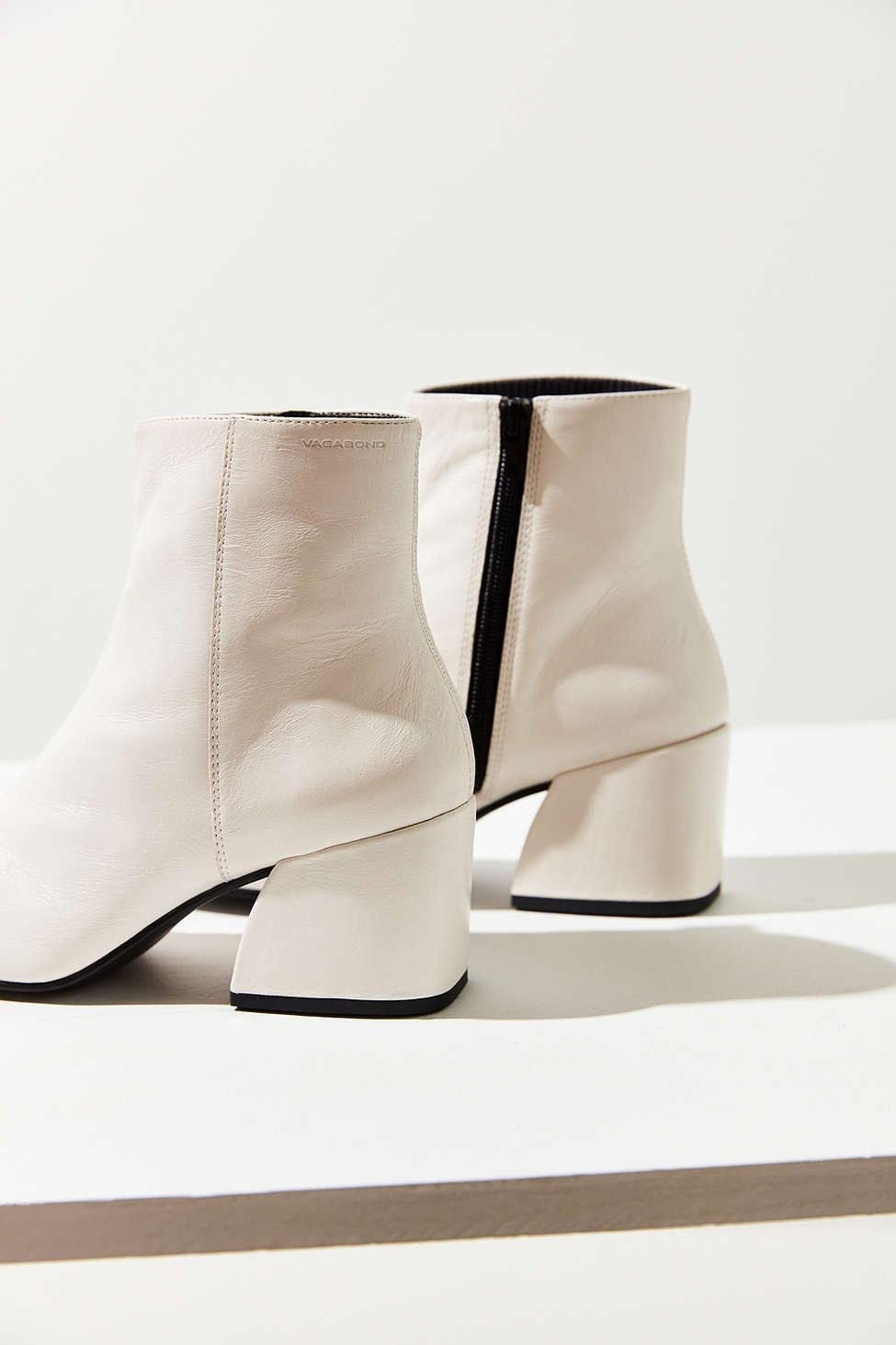 967bd579b6a22c Lyst - Vagabond Olivia Leather Boot in White