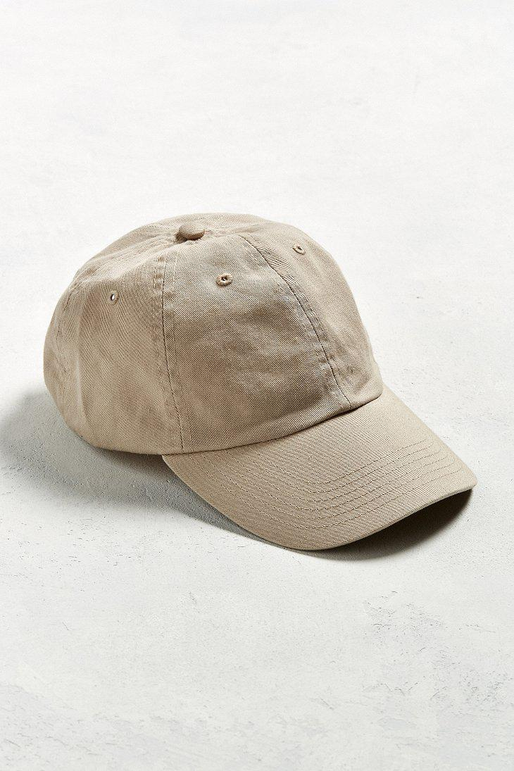 a0cf62c614200 Lyst - Urban Outfitters Uo Curved Brim Baseball Hat in Natural for Men