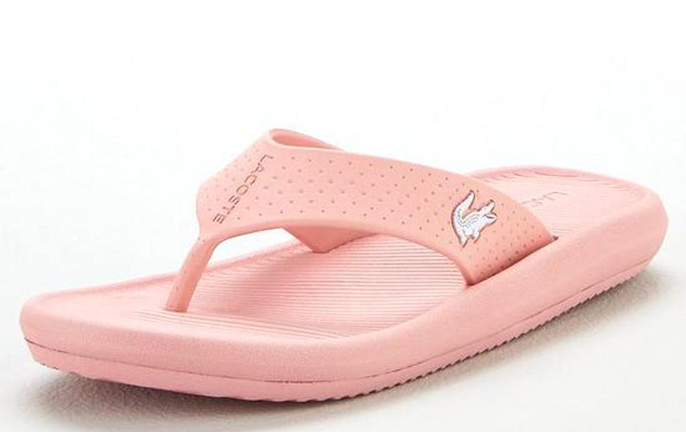 2dfa50d68 Lyst - Lacoste Croco Sandal 219 1 Cfa in Pink