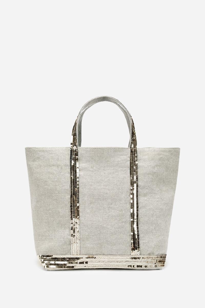 6234e6206 Vanessa Bruno. Women's Medium Linen And Sequins Cabas Tote Bag