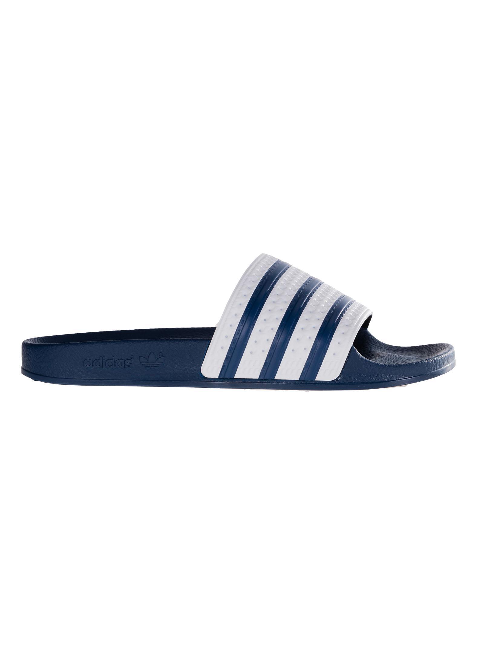 new styles 73b7d 5b0d3 adidas. Mens Blue Adilette