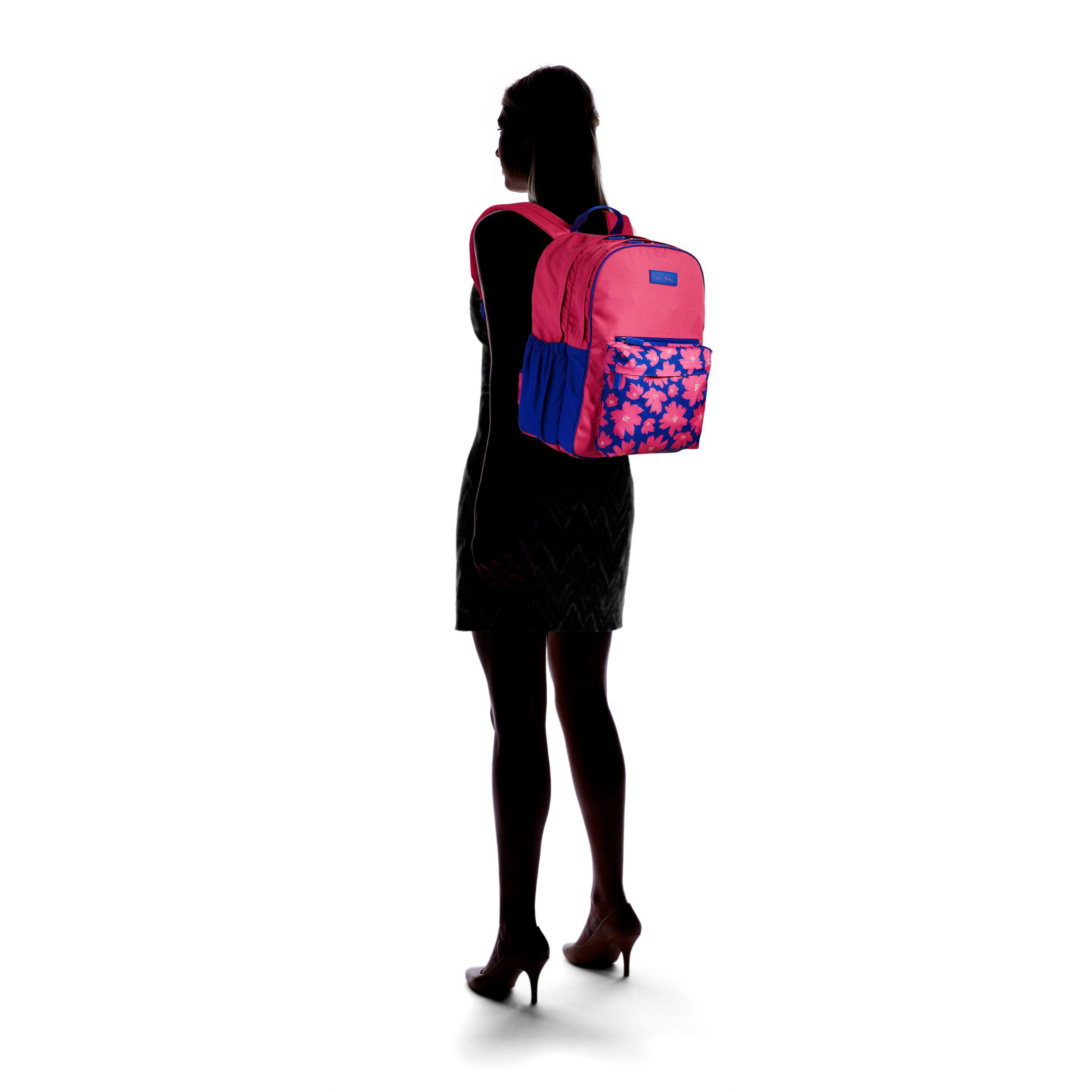 7e064feb2d Lyst - Vera Bradley Large Colorblock Backpack in Red