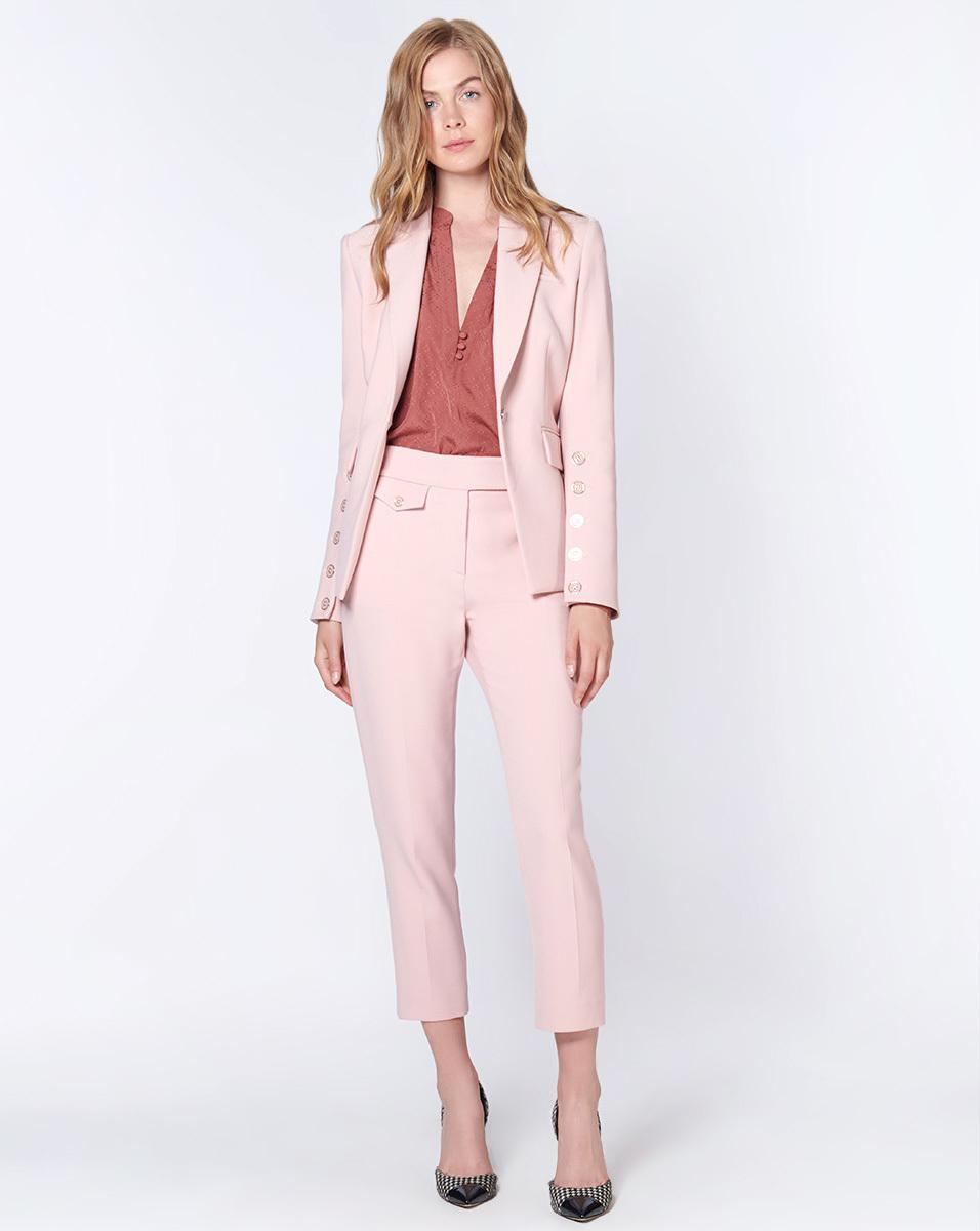 32afad65a79 Veronica Beard Fogg Dickey Jacket in Pink - Lyst