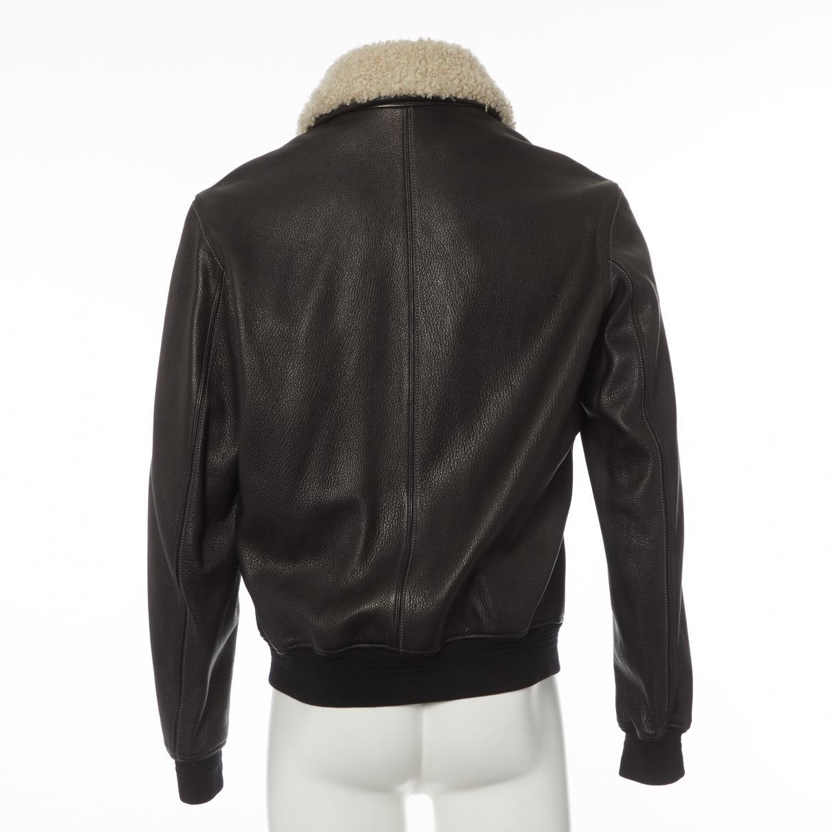 f1cf55d884f Hermès - Brown Blouson en cuir for Men - Lyst. Afficher en plein écran