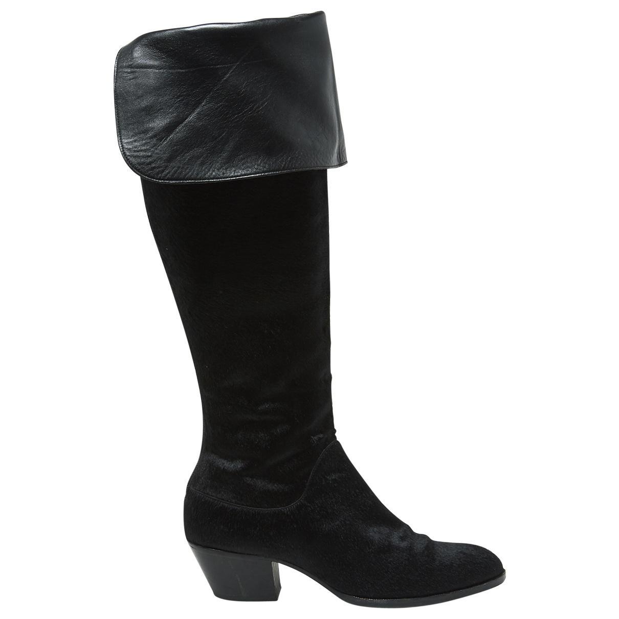 Missoni Pony-style Calfskin Boots