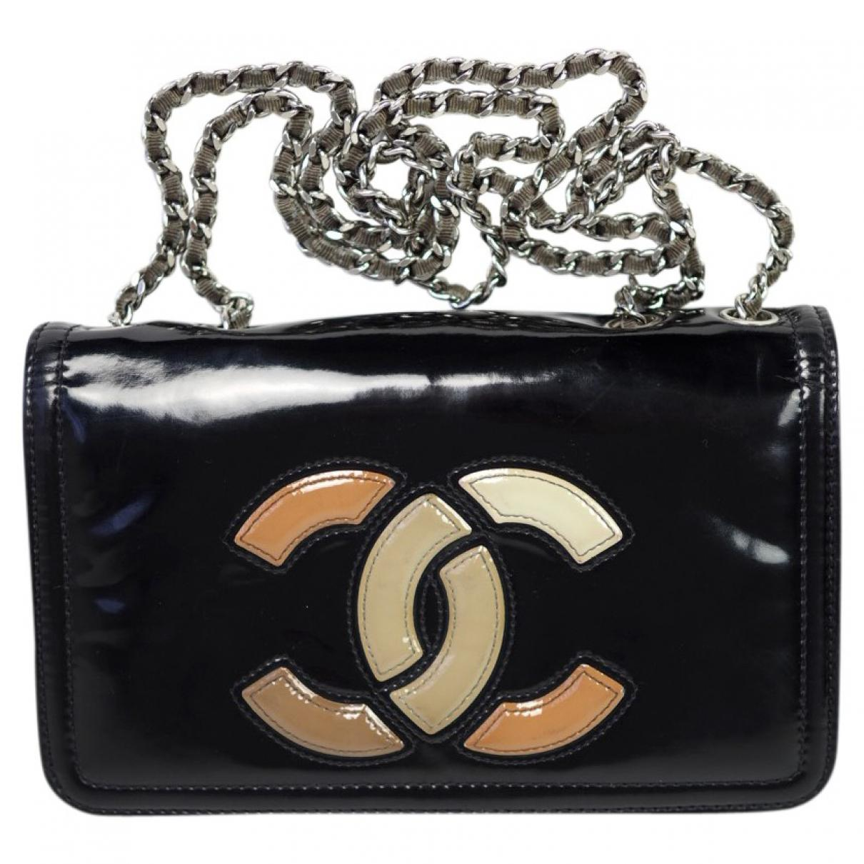 Pre-owned - Patent leather crossbody bag Chanel 8Nkxp