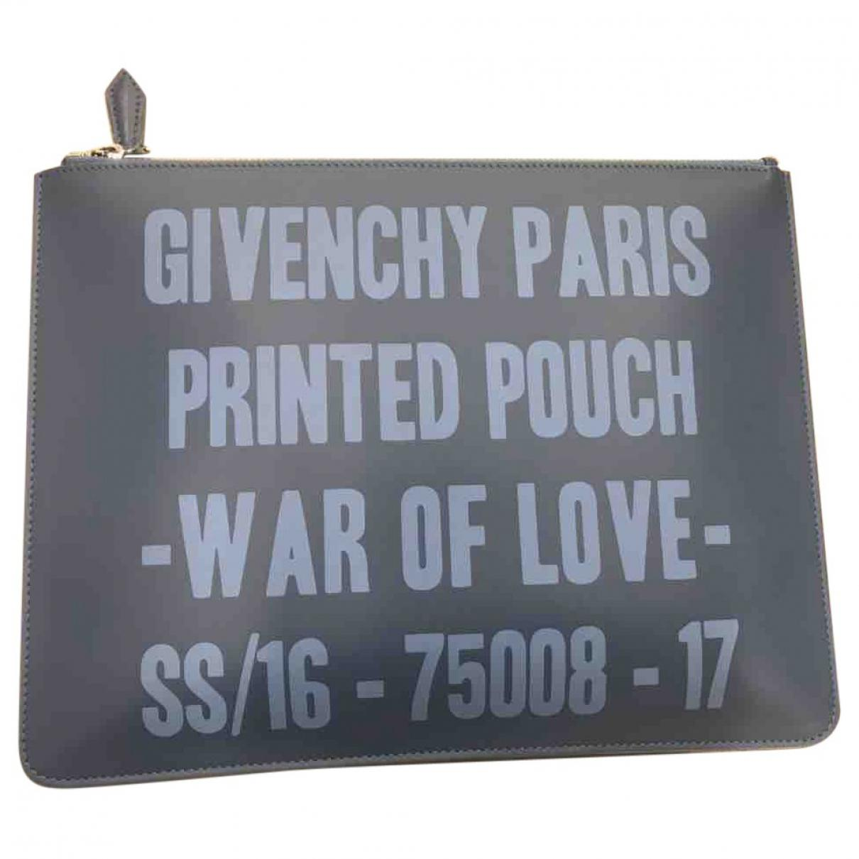 Lyst - Petite maroquinerie en cuir Givenchy en coloris Bleu 6aedd99a150