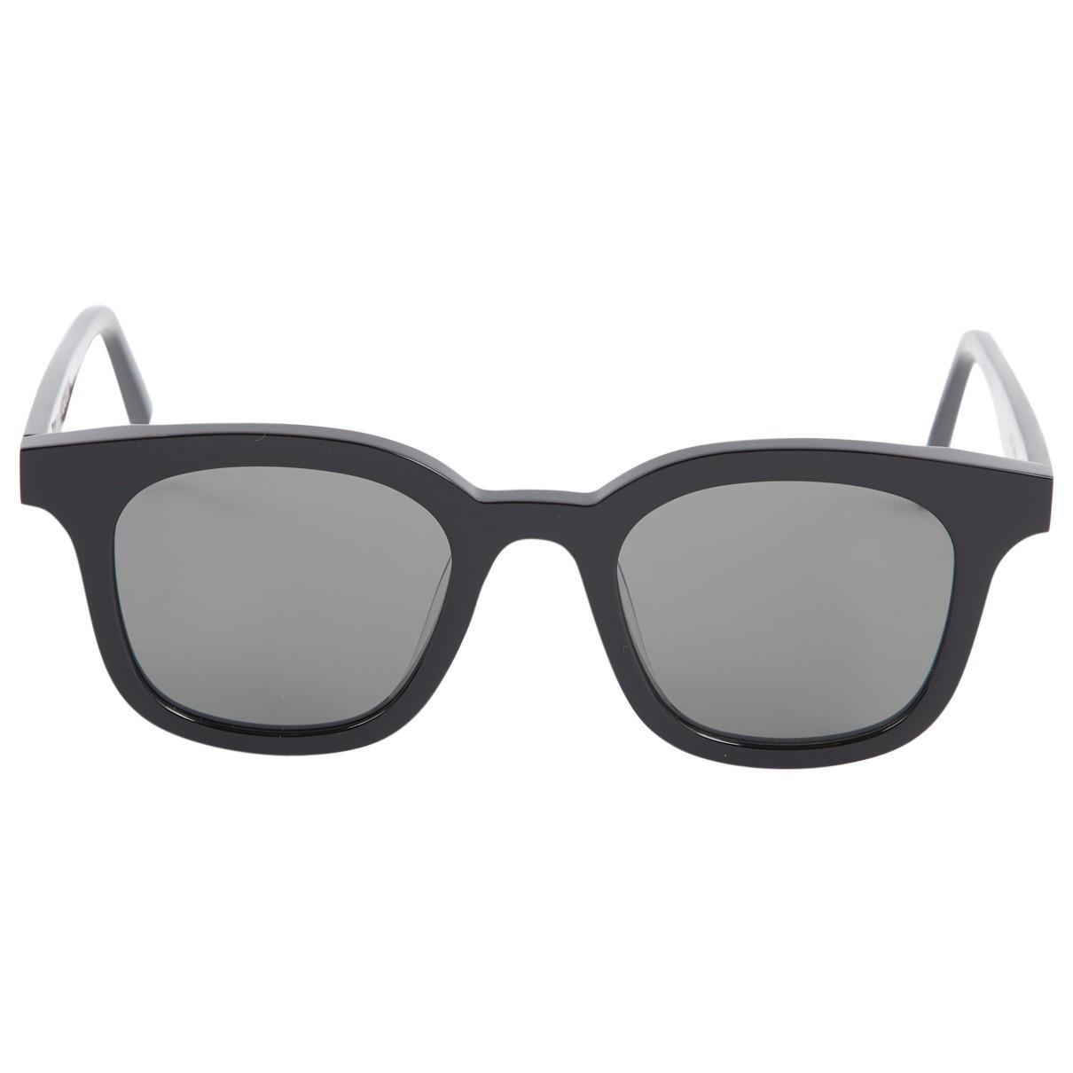 f47549bb26661 Lyst - Gentle Monster Black Plastic Sunglasses in Black