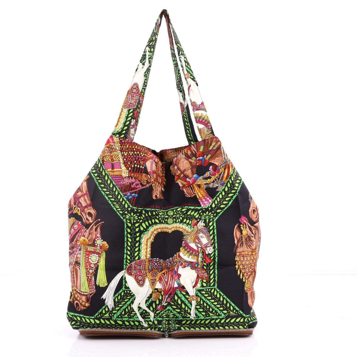 8847ed64955a Lyst - Hermès Pre-owned Silky Pop Silk Handbag