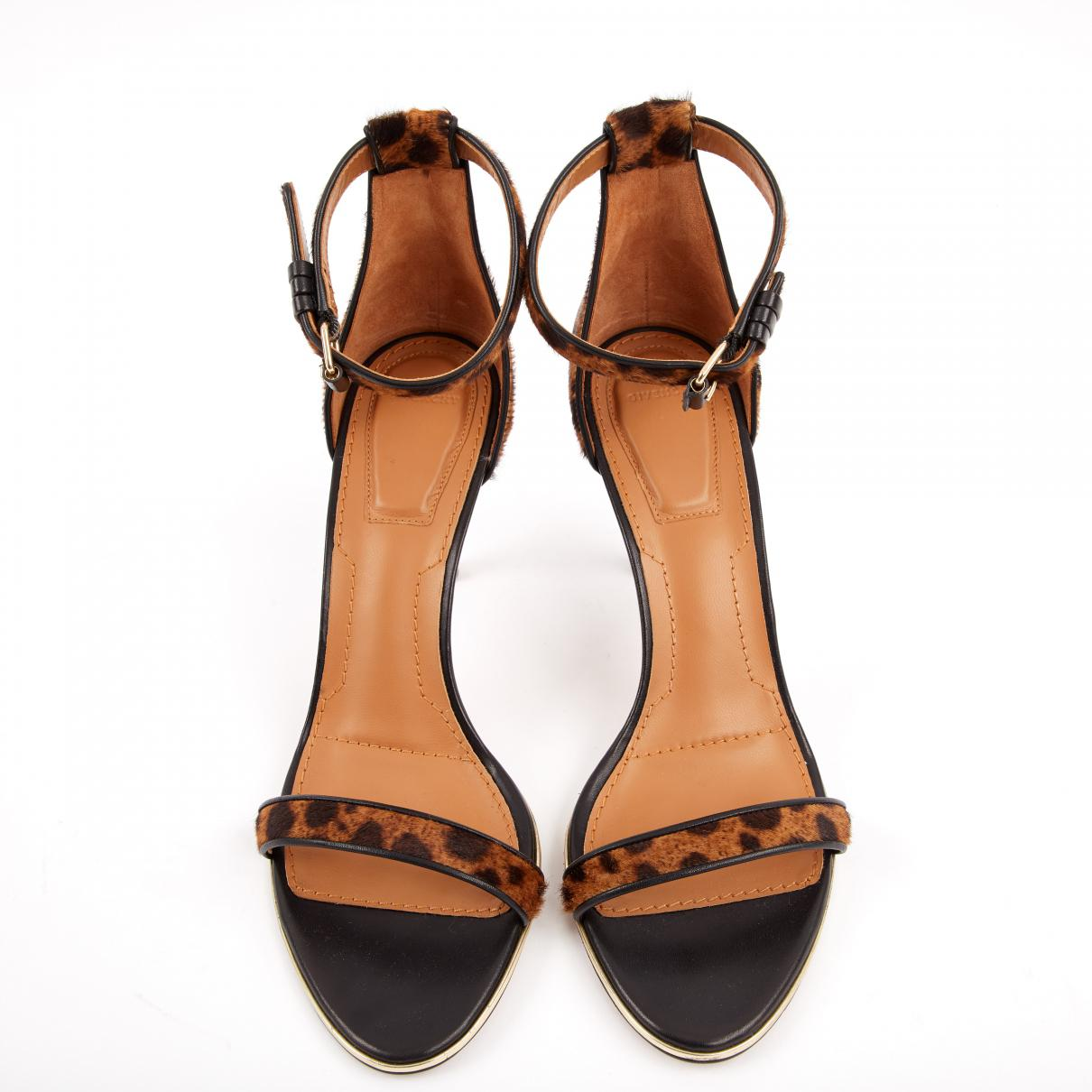 Pre-owned - Pony-style calfskin sandal Givenchy Uejlxak