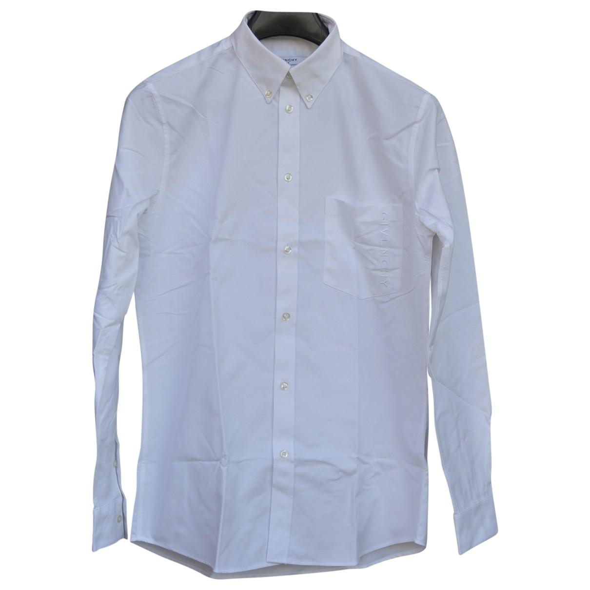 40dfc3b5d Givenchy Shirt in White for Men - Lyst