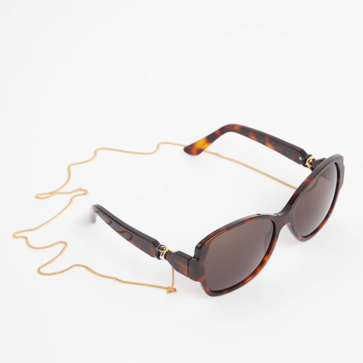 96deed85be88c0 Lyst - Cartier Sunglasses in Brown