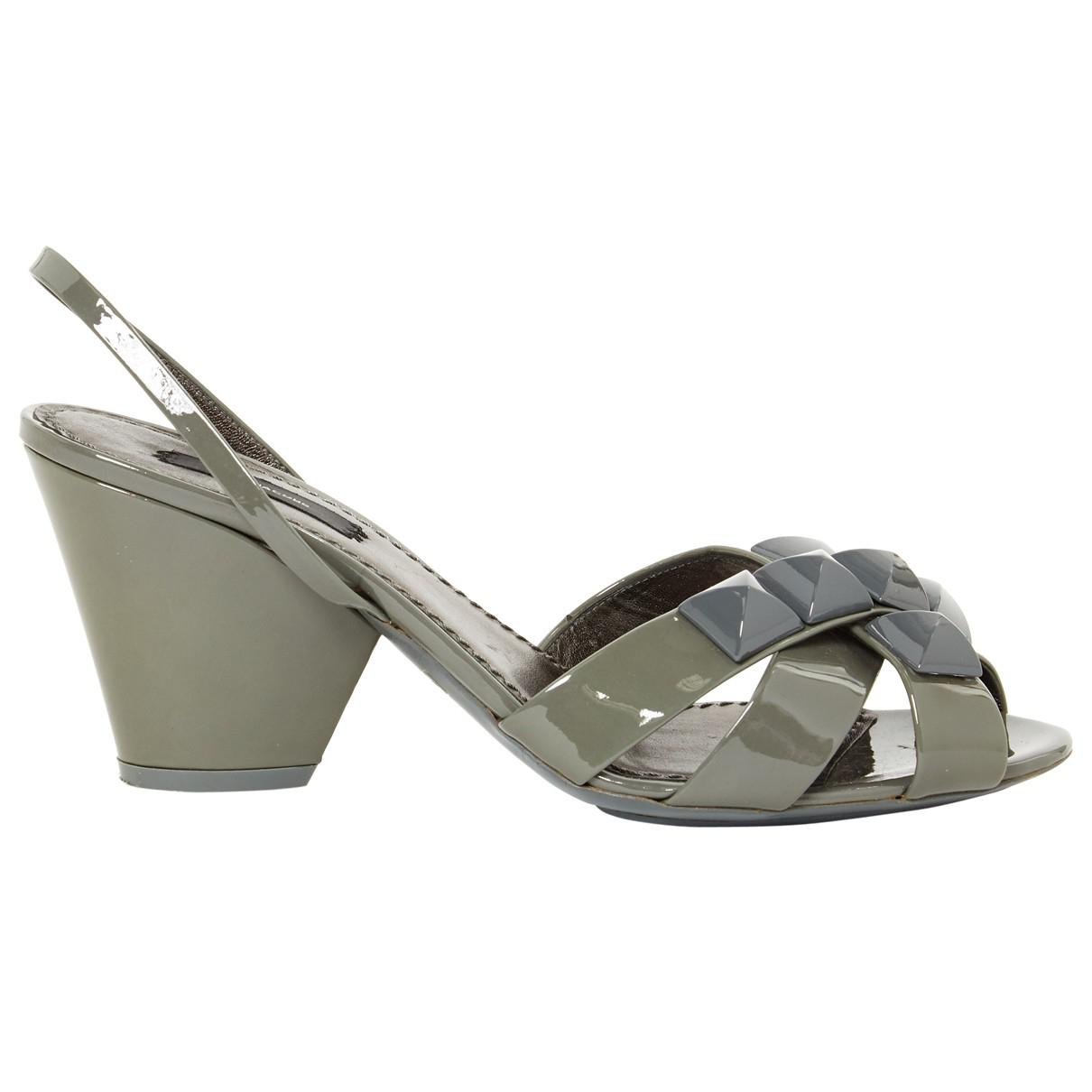 Pre-owned - LEATHER SANDALS Marc Jacobs TEtPhKC