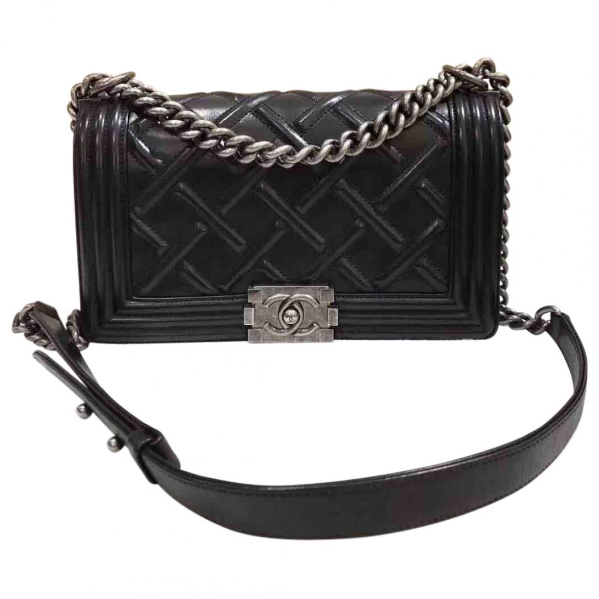 Chanel Pre-owned - Boy leather handbag 74xxsJ