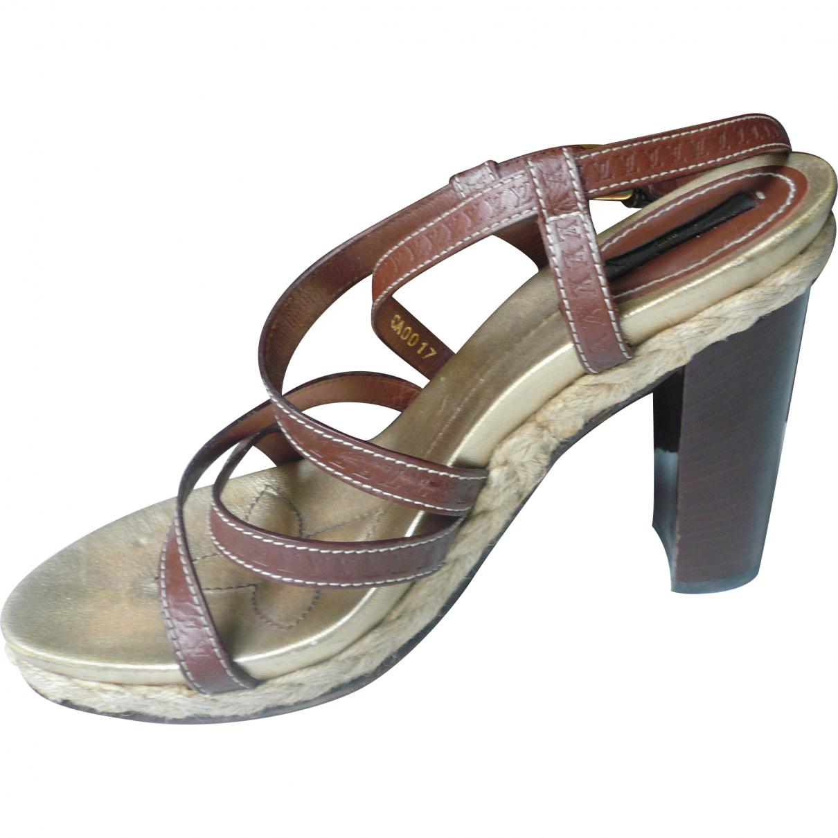 Pre-owned - Leather sandals Louis Vuitton r908YR