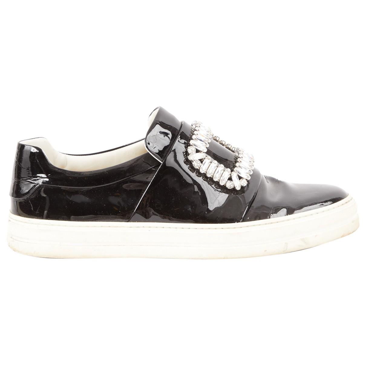 Roger VivierPatent Leather Low Trainers ecoWeryw