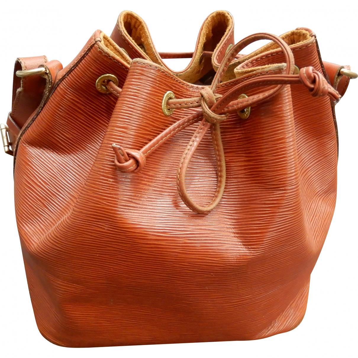 10f3976b28 Sac à main Noé en cuir Louis Vuitton en coloris Orange - Lyst