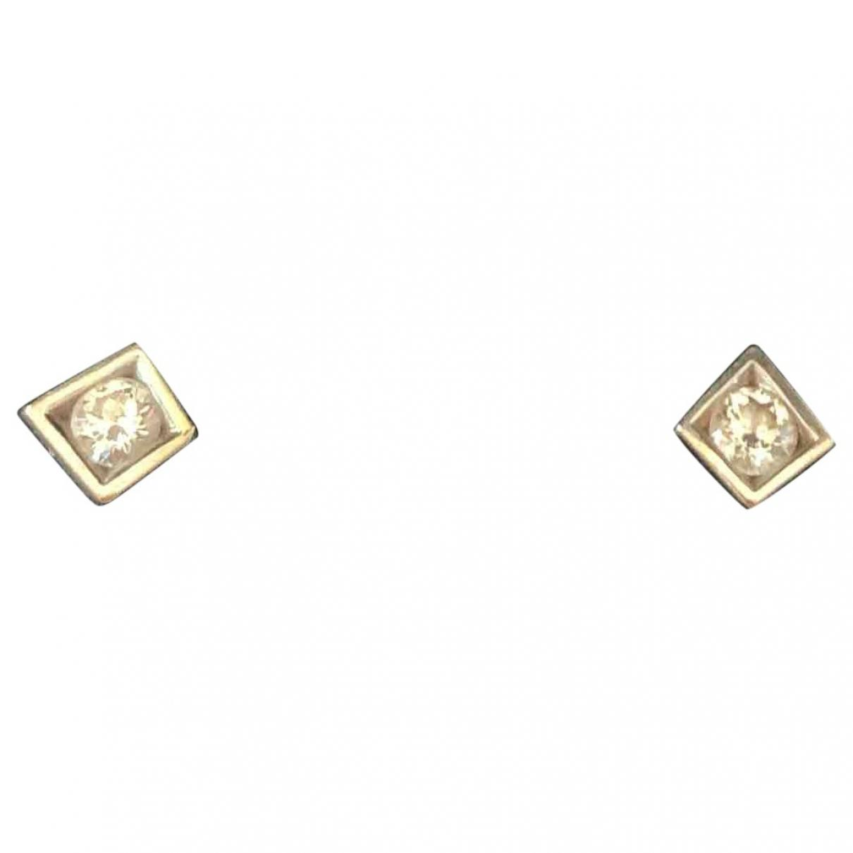 White co. Tiffany gold earrings for women forecast to wear in spring in 2019