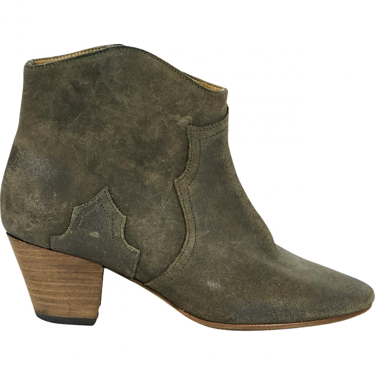 Pre-owned - Dicker ankle boots Isabel Marant 3KW6lAVxP