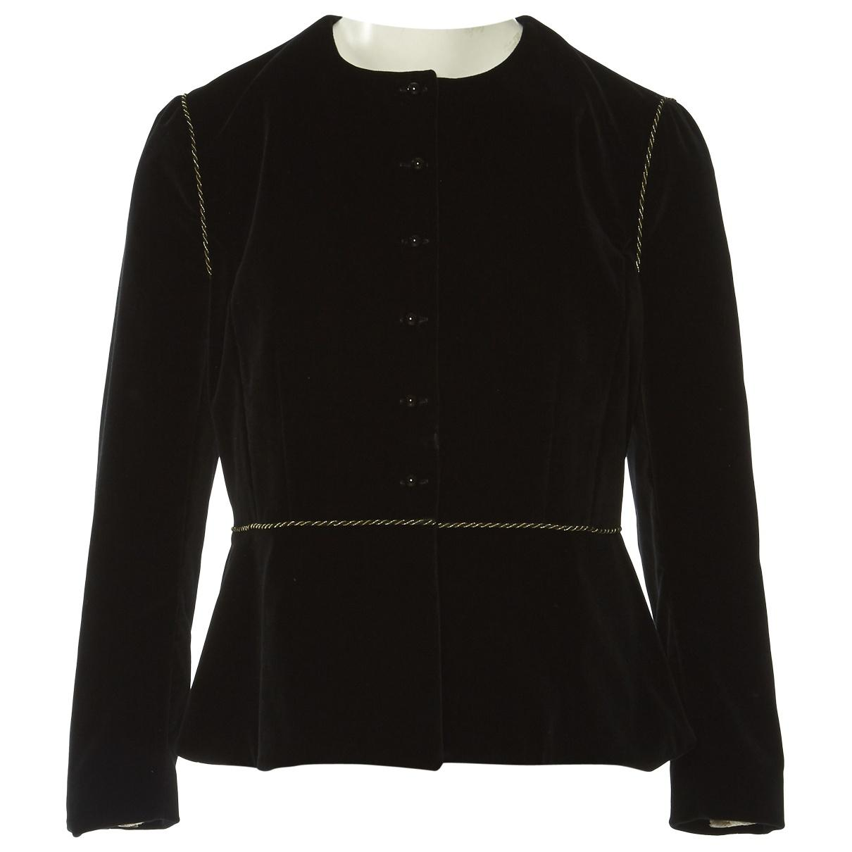 ce3024bdb6 Isa Arfen. Women's Pre-owned Black Cotton Jackets. $329 $296 From Vestiaire  Collective