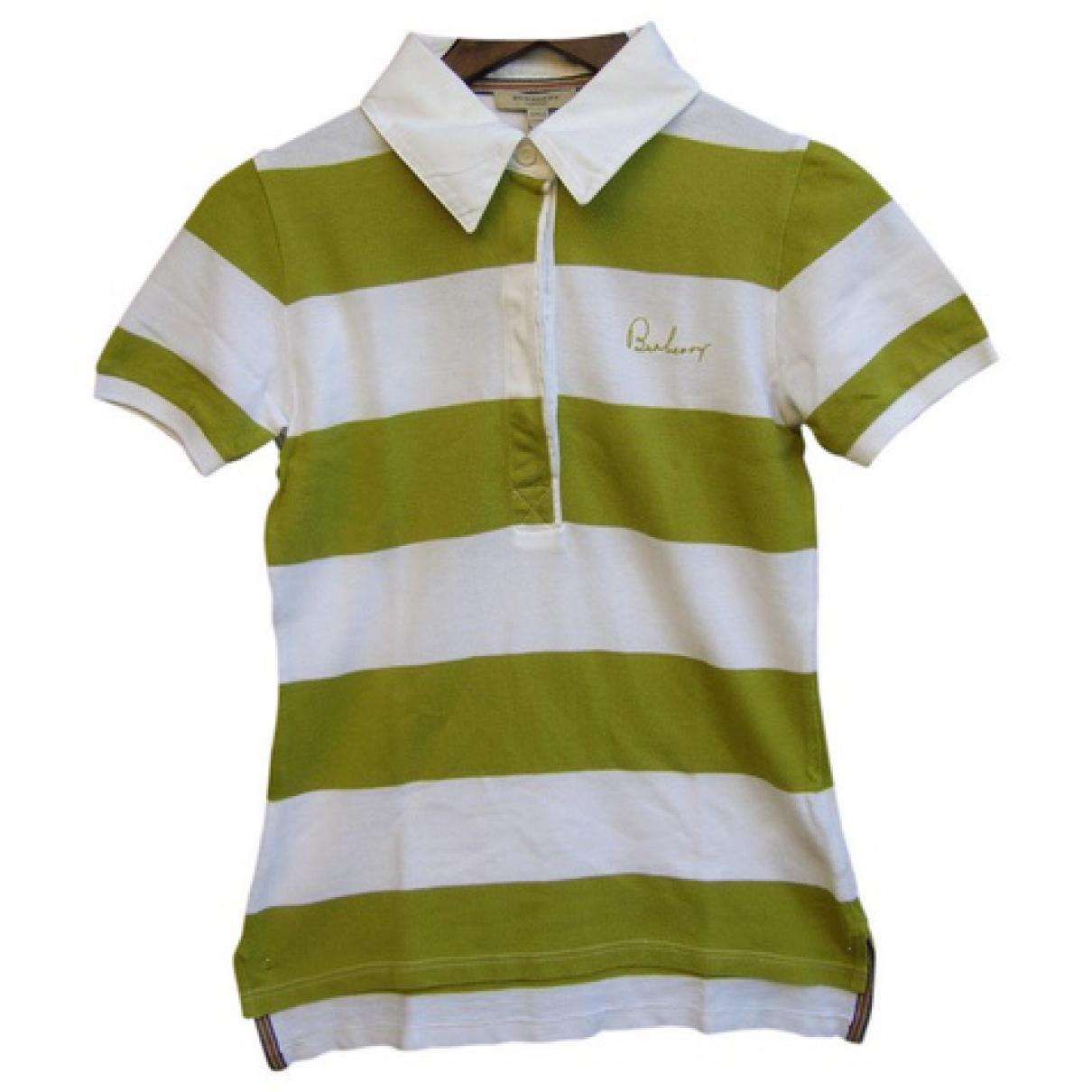 a189ae341827 Burberry. Men s Green Pre-owned London Polo.  104 From Vestiaire Collective  ...