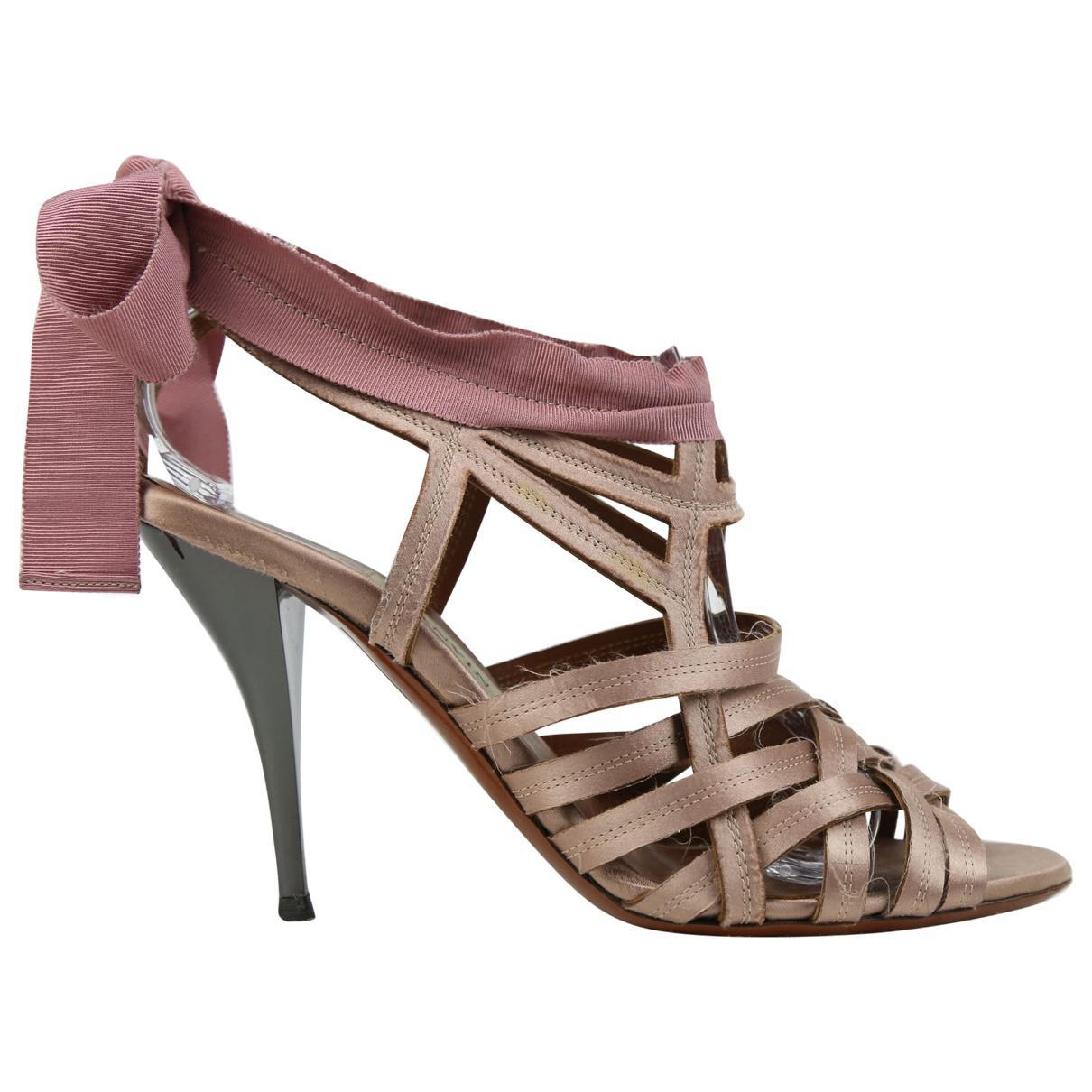 Lanvin Cloth Sandal gYa2jr