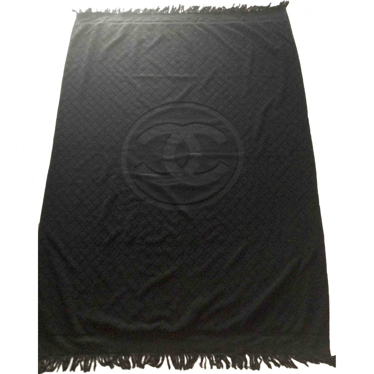 Chanel Towel: Chanel Pre-owned Bath Towel In Black