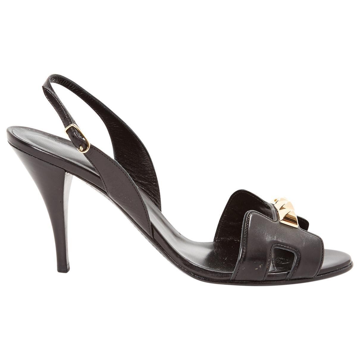 Pre-owned - Cloth heels Herm GB0Yxb