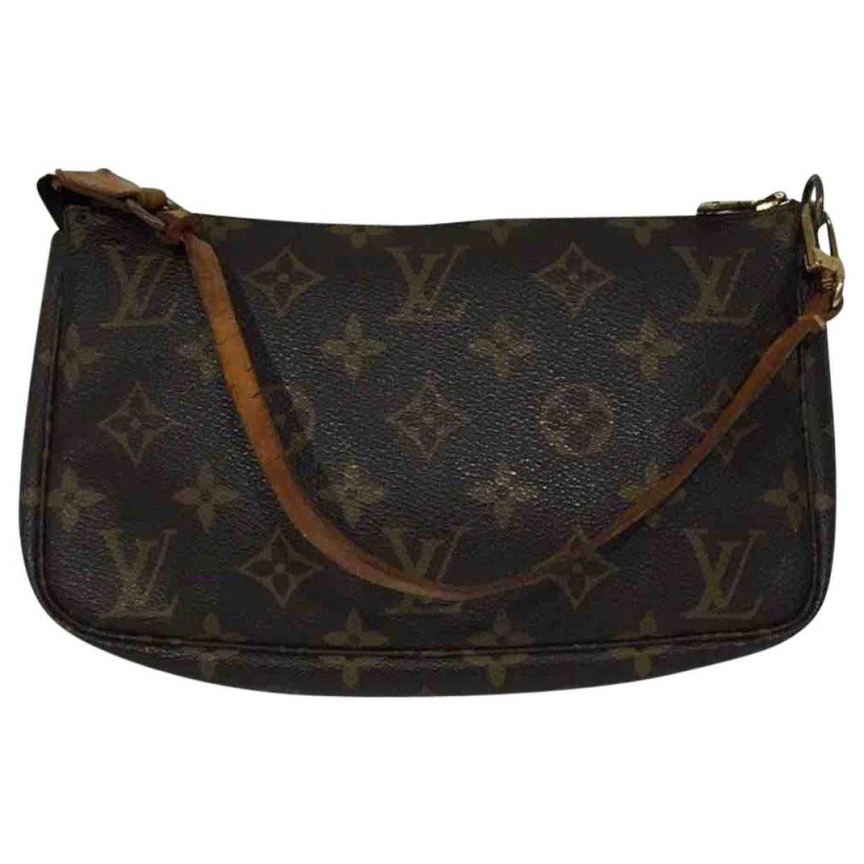 dd5696ec721 Louis Vuitton Pre-owned Pochette Accessoire Cloth Clutch Bag in ...