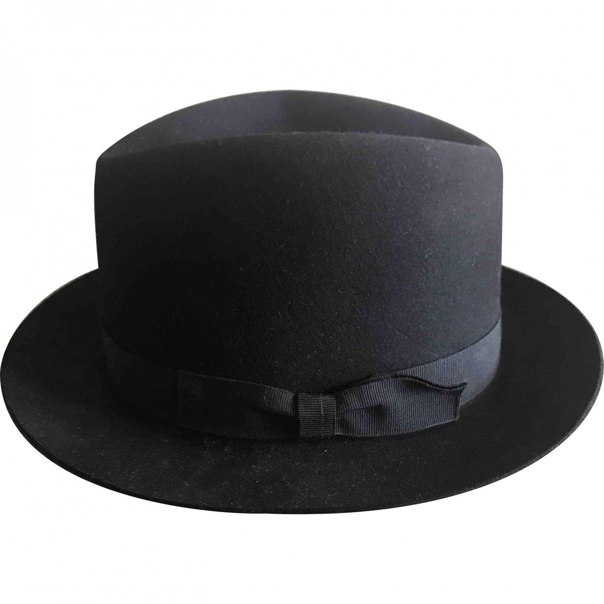 Hermès Pre-owned Beaver Hat in Black for Men - Lyst 69260fef39b8