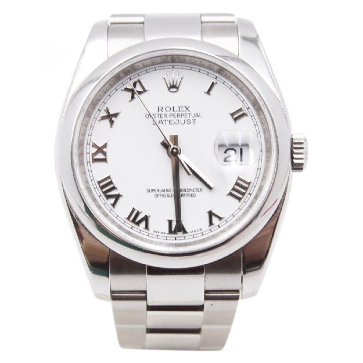 a8e47f9ade5 Rolex Datejust 36mm Watch in Metallic for Men - Lyst