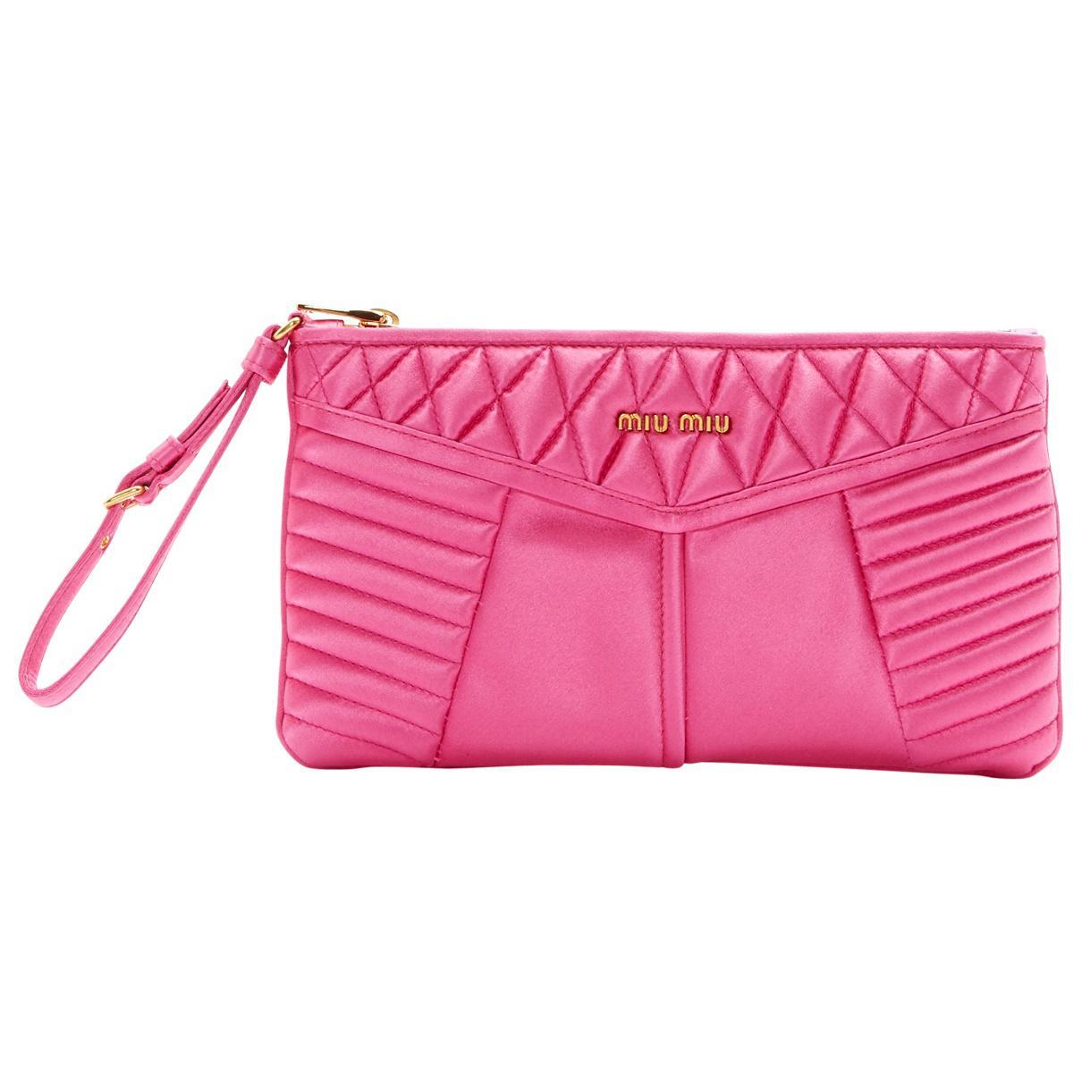 Pre-owned - Cloth clutch bag Miu Miu 4EoPCQM