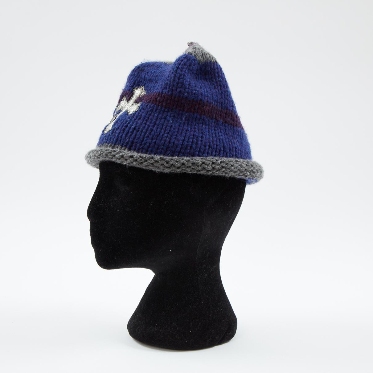 fe0f3015149 Chrome Hearts Multicolour Wool Hats   Pull On Hats in Blue for Men ...