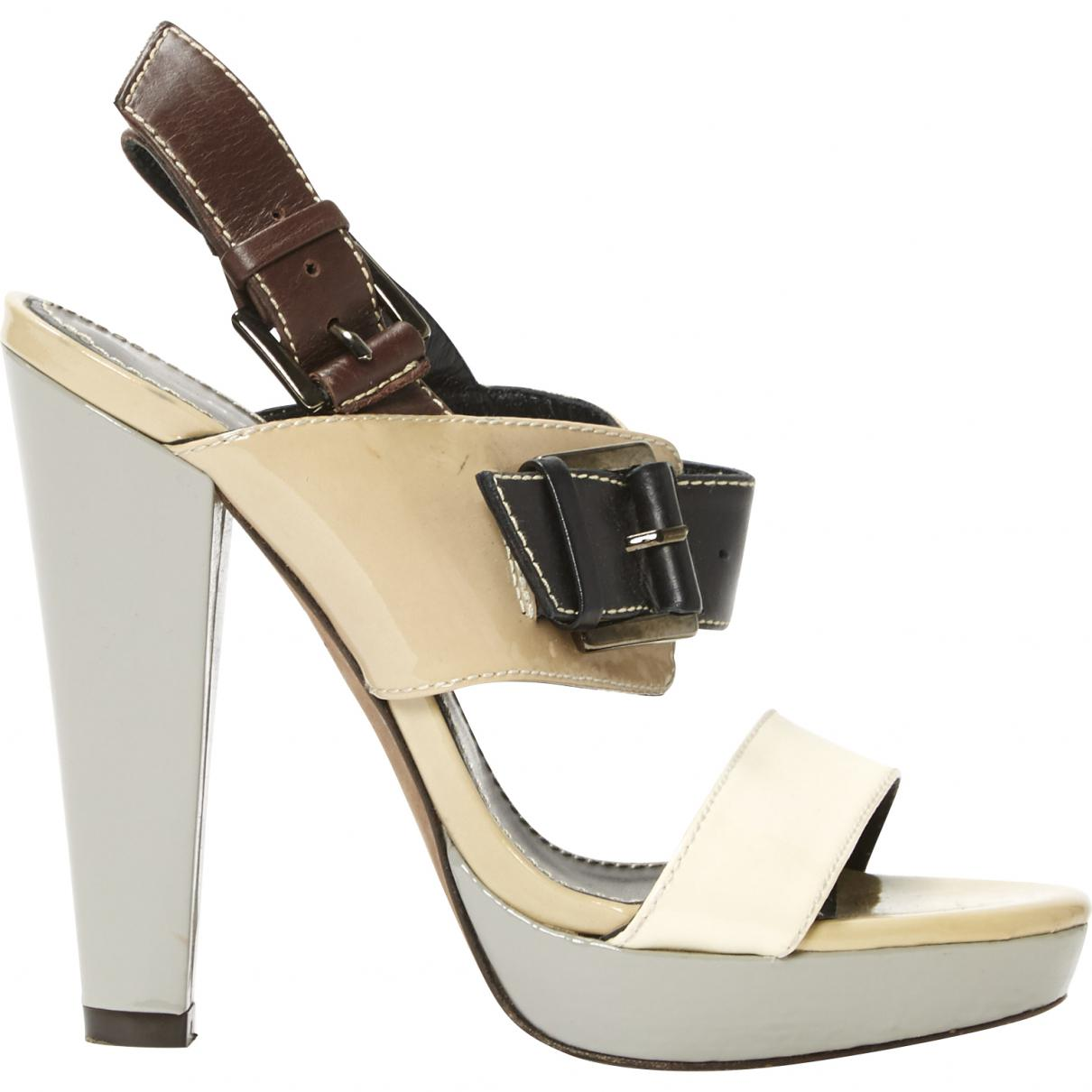 Pre-owned - Patent leather sandals Barbara Bui Good Selling For Sale Sale Cheapest Price Outlet Visit dGHOvwW