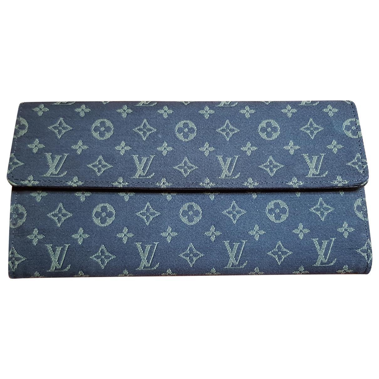 Lyst - Portefeuille en toile Louis Vuitton en coloris Marron e1a5cc87664