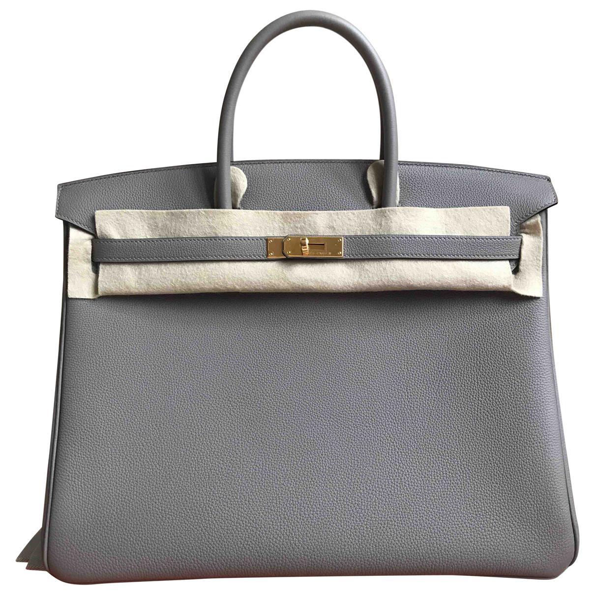 fd820aa889 Hermès Preowned Birkin 40 leather handbag ZbnJ7Lj5 - zanarasabina.com