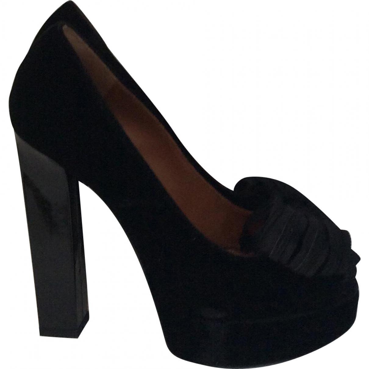 Pre-owned - Velvet heels Lanvin ARKqFW0ND1