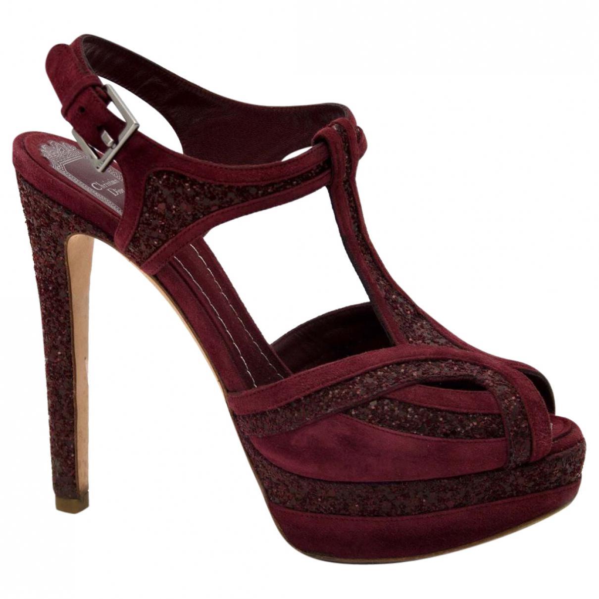 Pre-owned - Brown Suede Sandals Dior kgDcvIt23