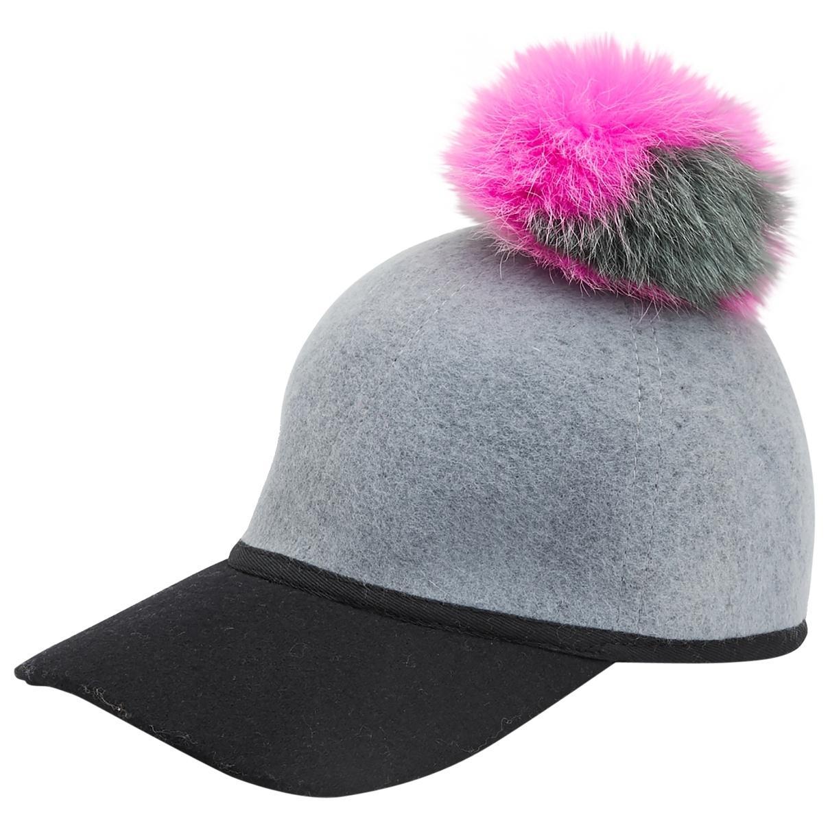 023265256ec Lyst - Charlotte Simone Pre-owned Grey Wool Hats in Gray