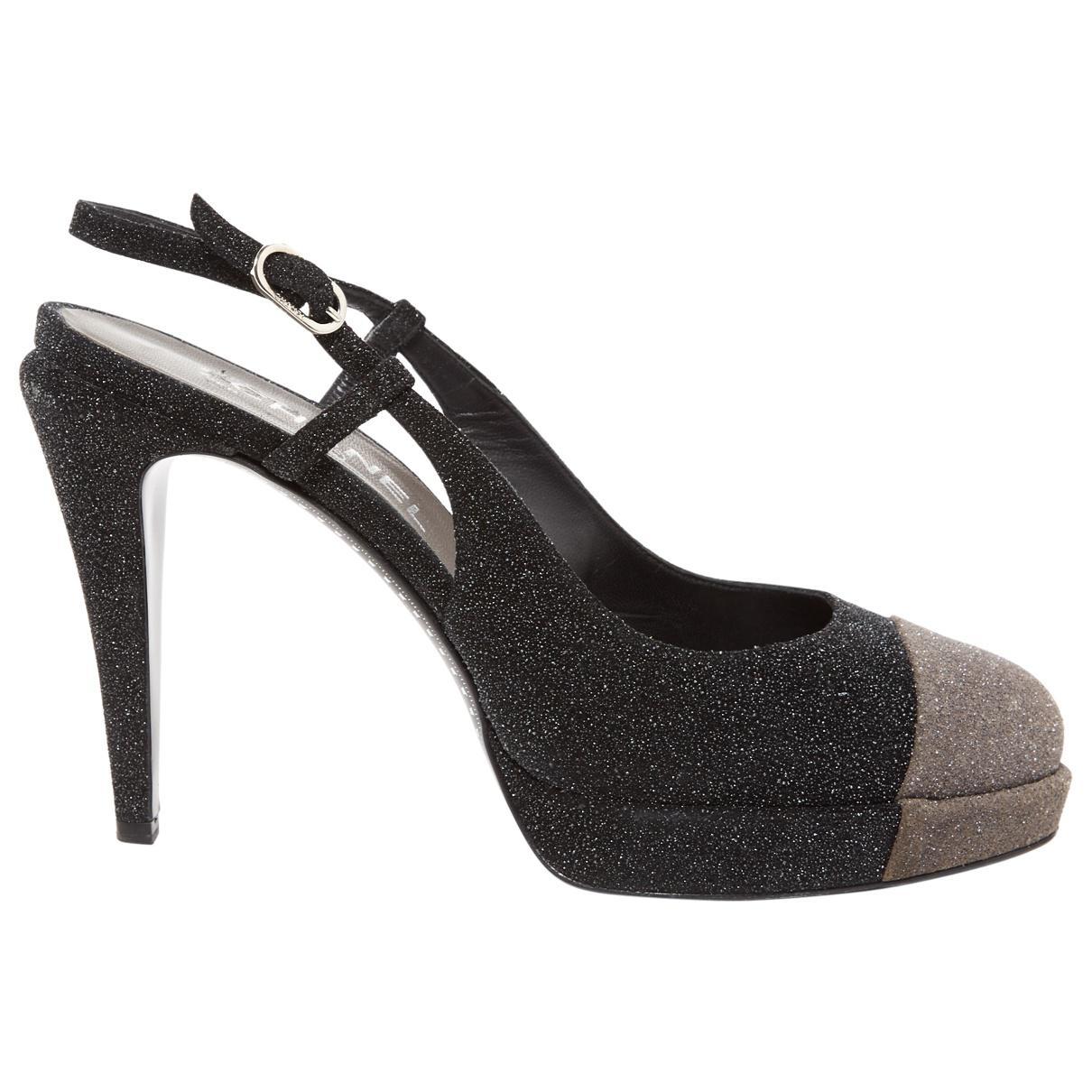 Pre-owned - Glitter heels Chanel t1flUU0