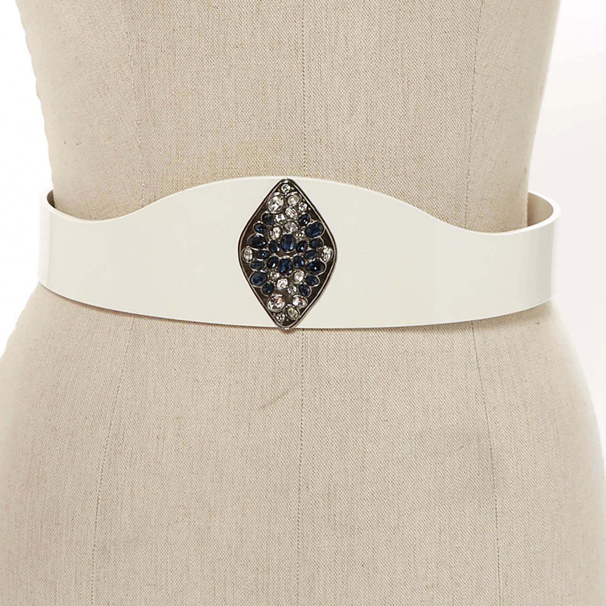 Lyst - Ceinture Chanel en coloris Blanc b016871b5c6