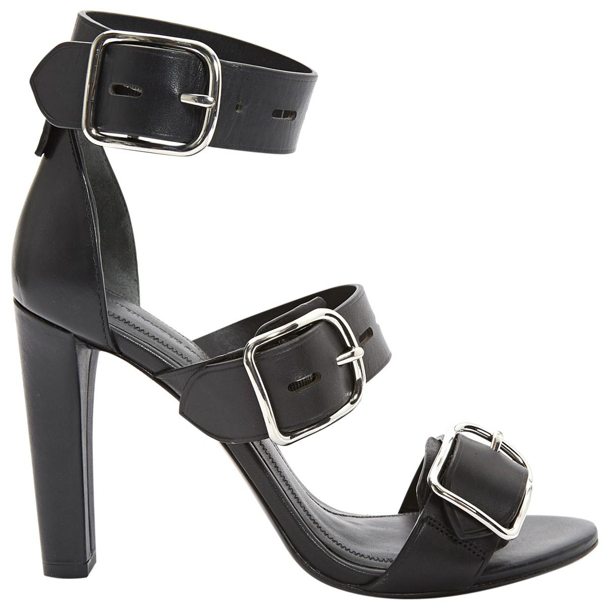 Pre-owned - Leather sandal Alexander Wang 4aJnS3py