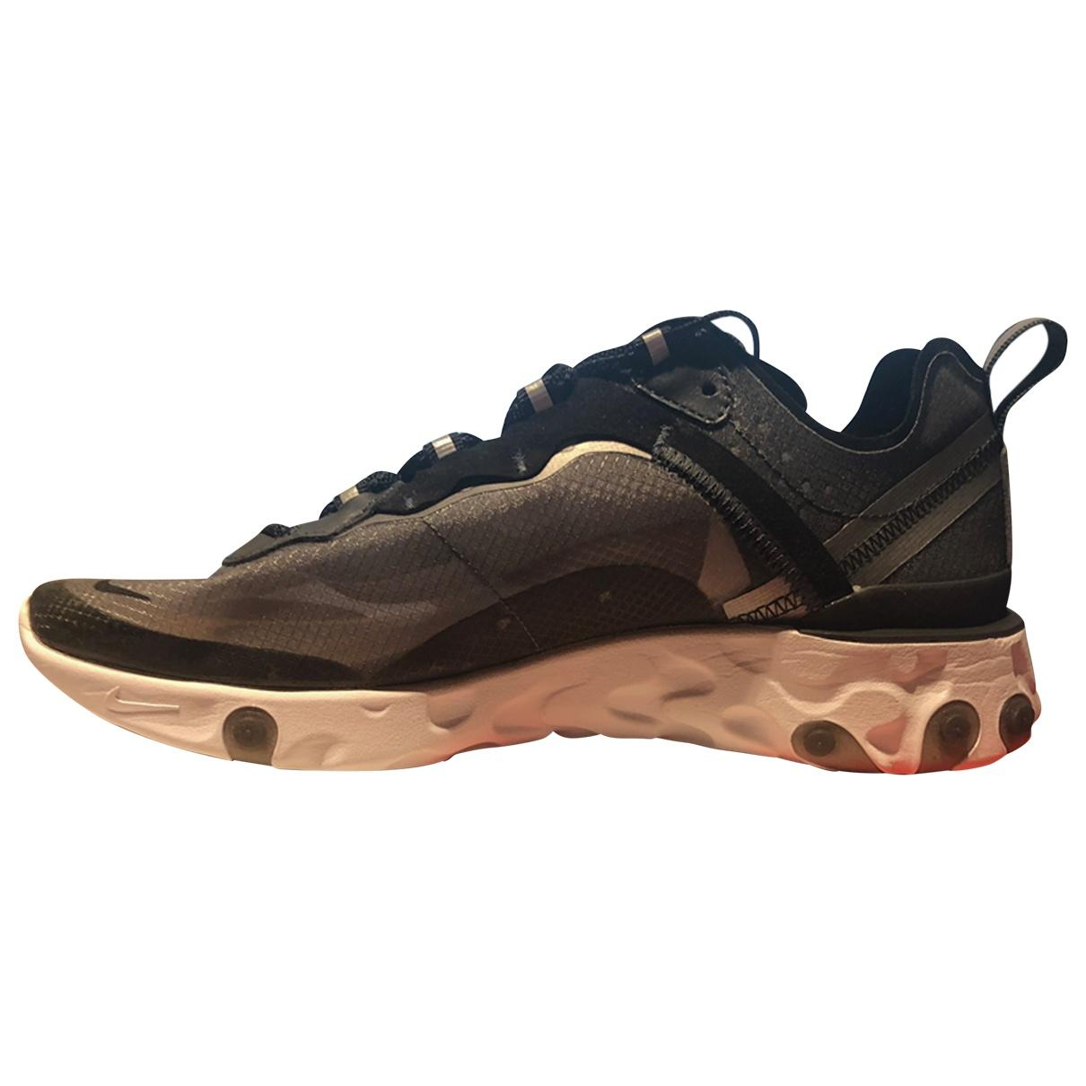 reputable site d91dd 7536d Nike Cloth Trainers in Black - Lyst
