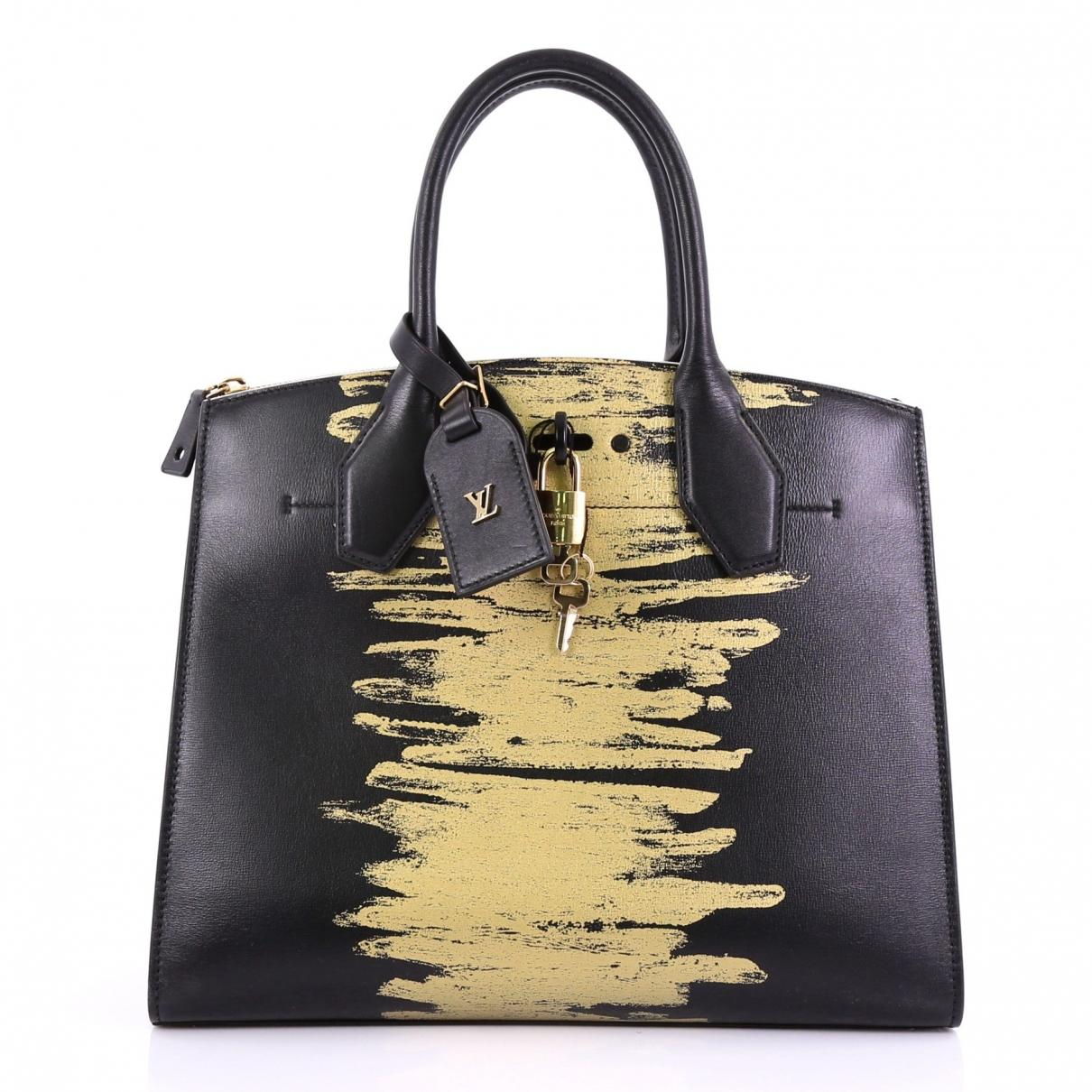 d92d860b9579 Louis Vuitton. Women's City Steamer Black Leather Handbag. £2,342 From Vestiaire  Collective