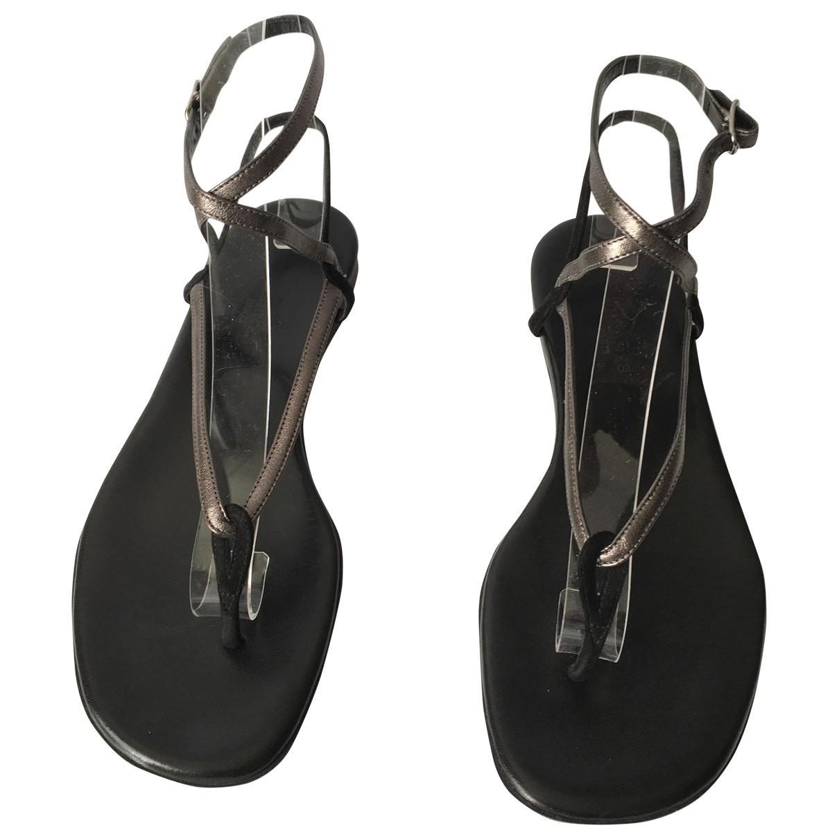 e81cd51ec09d Hermès. Women s Black Leather Sandals. £344 From Vestiaire Collective