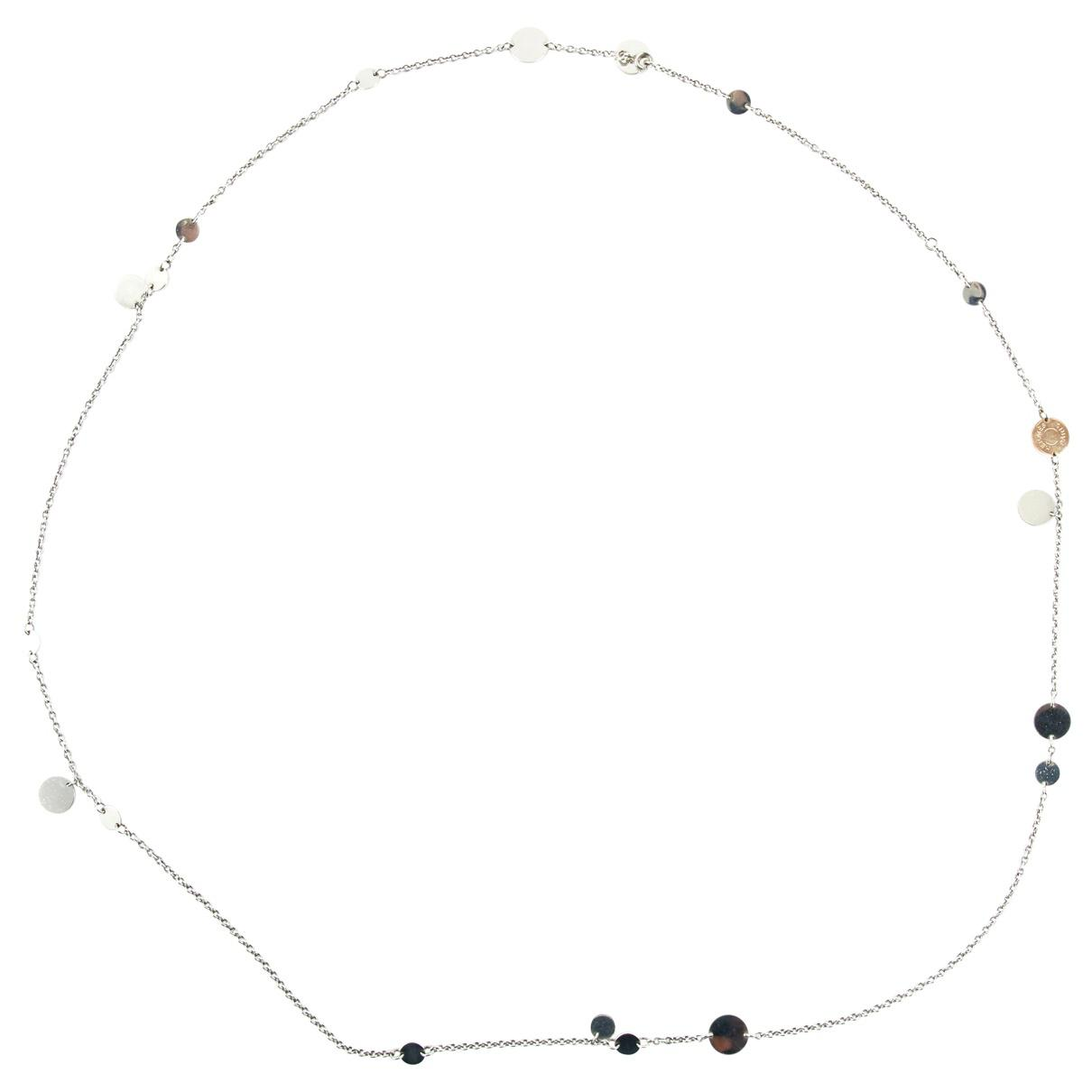 Lyst - Hermès Confetti Pink Gold Necklace in Metallic 8e5960f3bb9