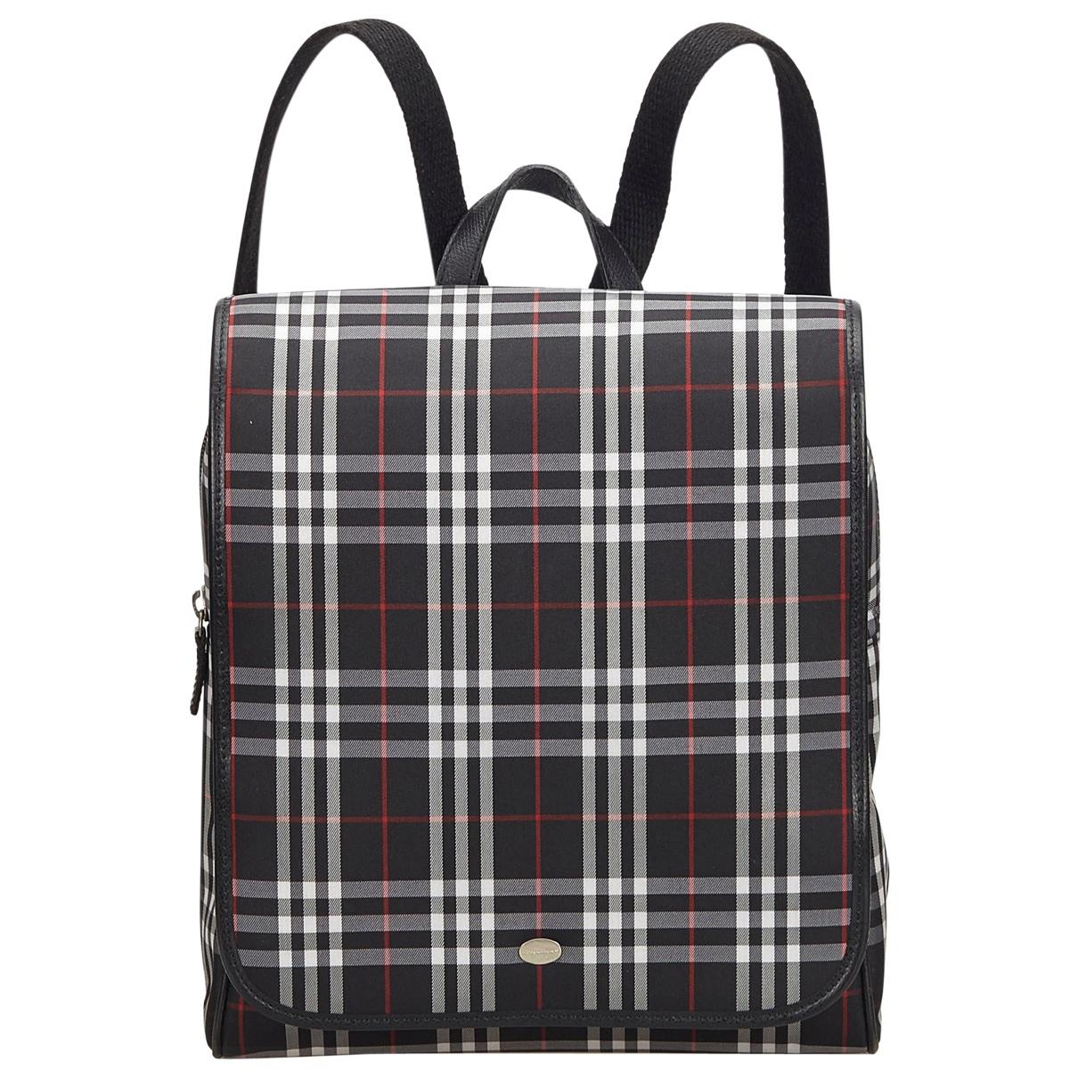 d7c38d4fc8ec Burberry. Women s Pre-owned Black Cloth Backpacks.  644  515 From Vestiaire  Collective