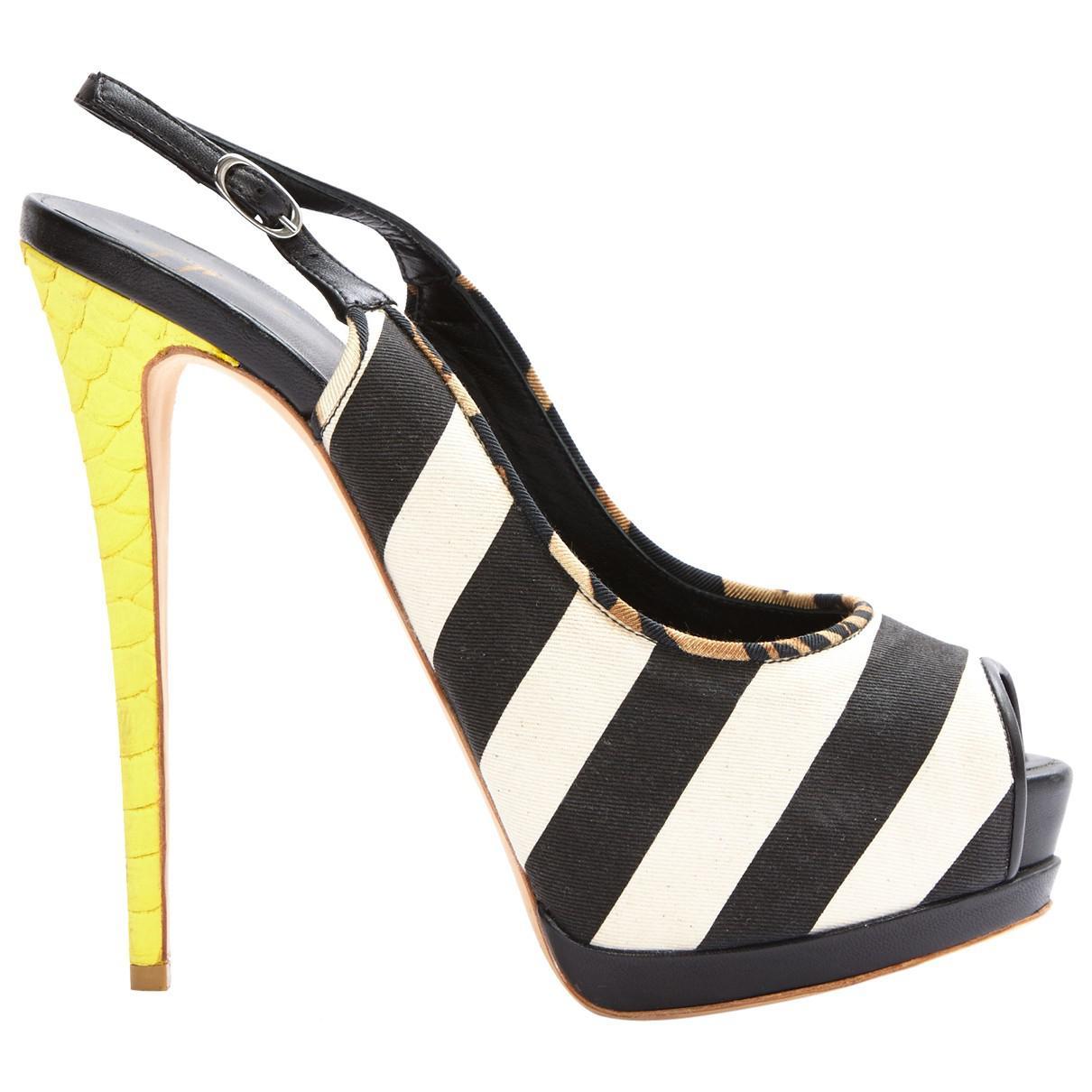 Giuseppe Zanotti Cloth Heels I0IHYy