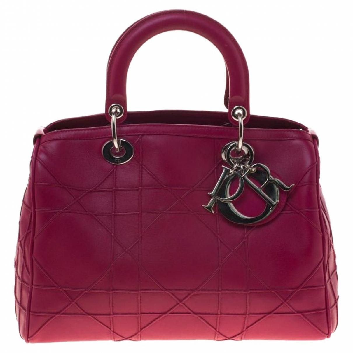 Dior. Women s Pink Granville Leather Satchel.  1 6861279b98280
